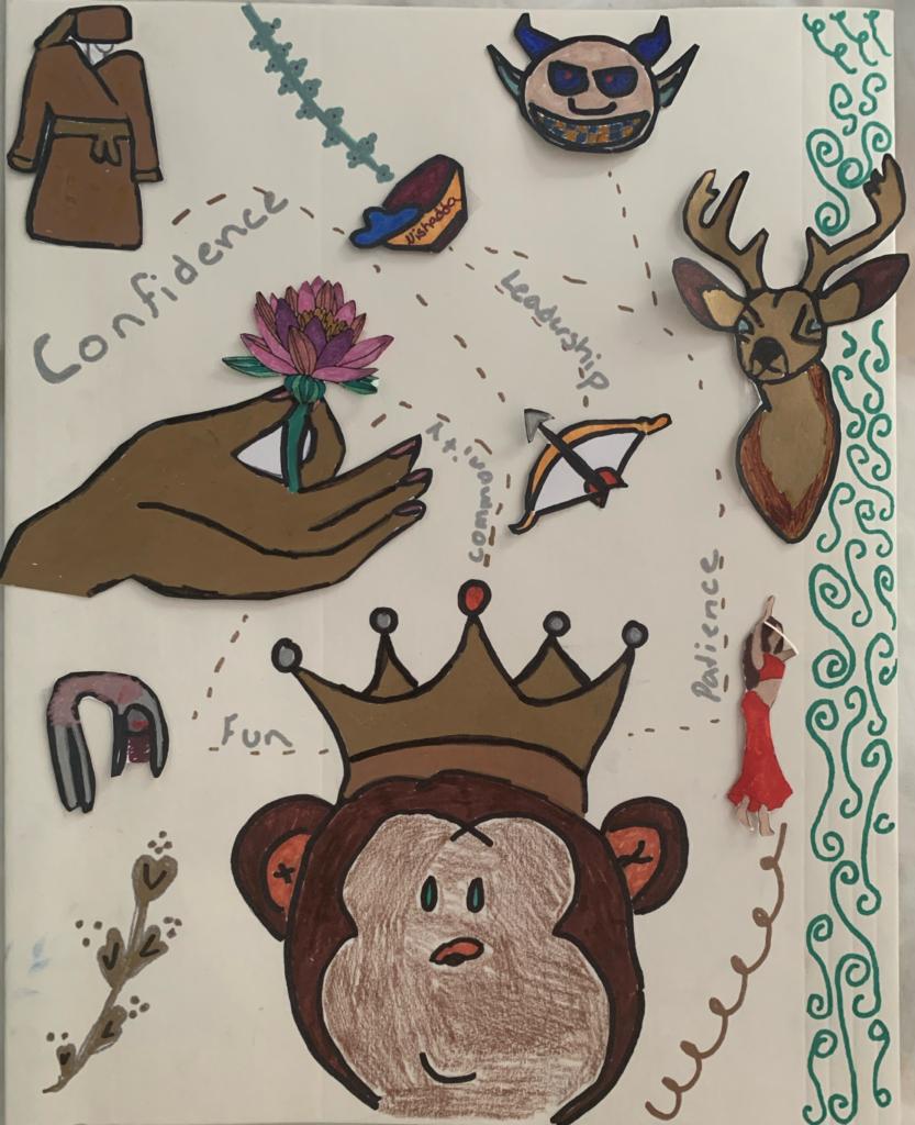 Tabby Hardin-Zollo Ramayana Character Project Art