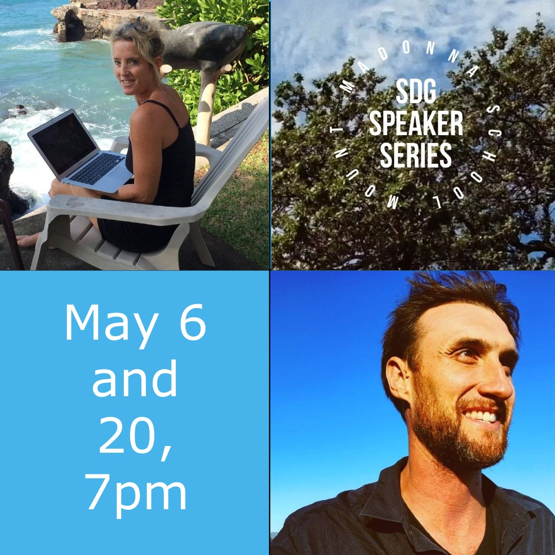 May 6 and 20 SDG Speaker Series