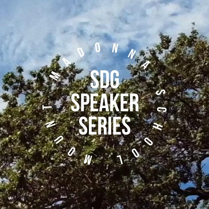 SDG Speaker Series