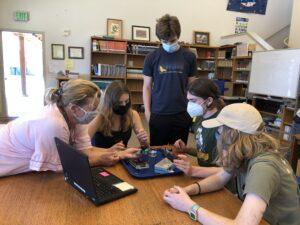 Engineering Club Students Build Underwater ROVs for Ocean Experiments