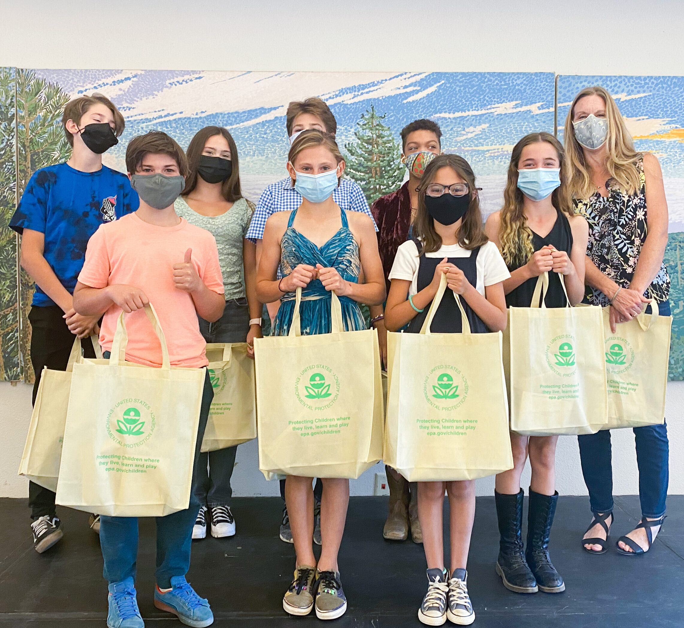 Environmental Protection Agency Honors Students' Shark Conservation Efforts